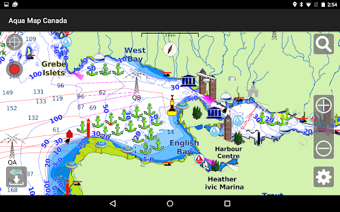 Aqua Map Canada GPS- screenshot thumbnail