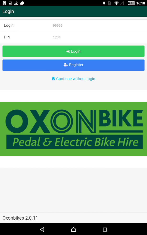 OXONBIKE- screenshot
