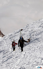 Photo: Pazout & Clarion - final part below the summit of Koryaksky