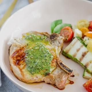 Pesto Grilled Pork Chops Recipe