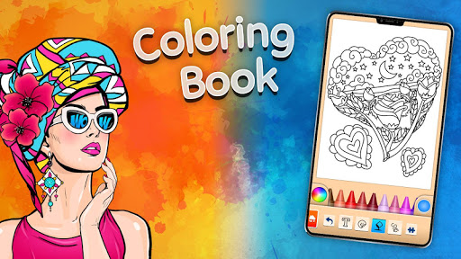 Girls games: Painting and coloring screenshots 22