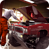 Monster Truck Mechanic Garage