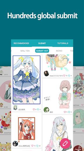 DrawShow: Anime Manga Tutorial 3.3.2.6 screenshots 4