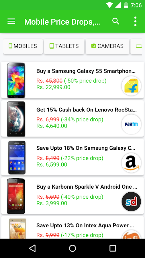 PriceTree- Shopping Comparison- screenshot