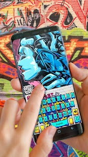 Street Graffiti Theme - náhled