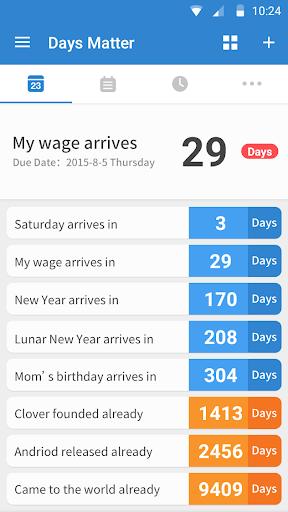 Days Matter screenshot 1