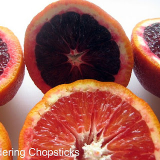 Blood Orange Shortbread Bars