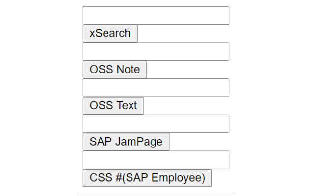 SAP OSS/ CSS Finder
