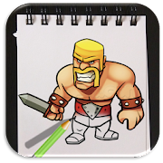 App How to Draw Clash of Clans Advanced apk for kindle fire