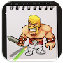 How to Draw Clash of Clans Advanced APK icon