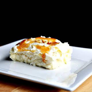 Lebanese Semolina pudding (Layali lebnan).