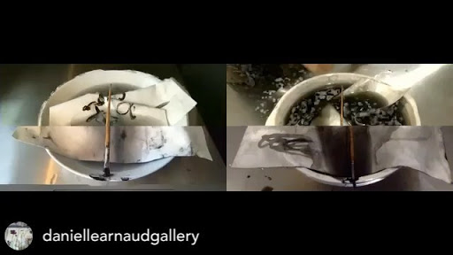 SOUND ON @daniellearnaudgallery 'Tracing Su...