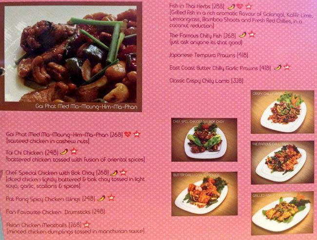 Orange Chopstick menu 8