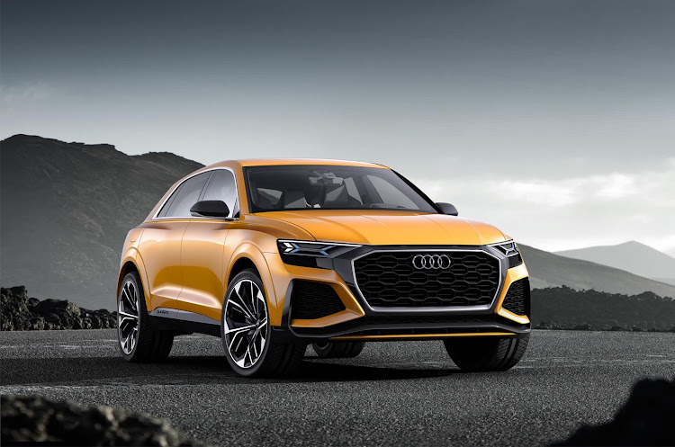 Audi will bring out its Q8 SUV coupé towards the end of the year