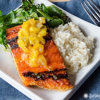 Salmon with Orange Glaze