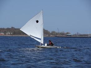 Photo: Jim downwind