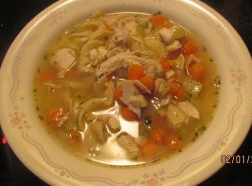 Super Easy Homemade Chicken Noodle Soup