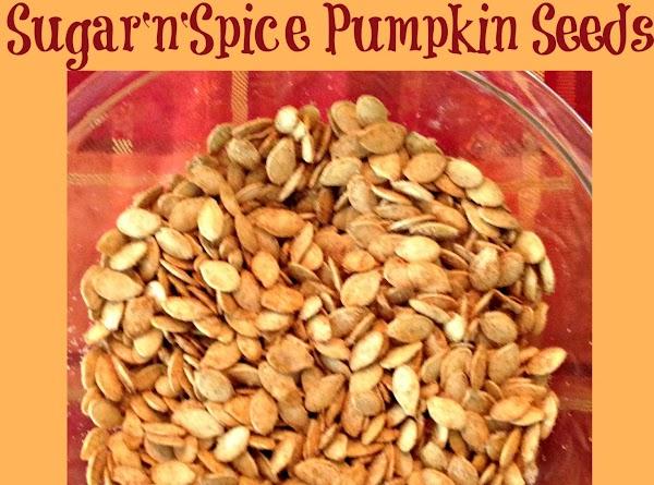 Sugar'n'spice Pumpkin Seeds Recipe