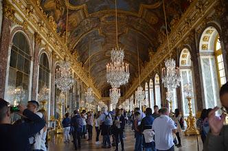 Photo: Versailles - hall of mirrors