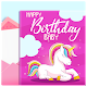 Unicorn Baby Shower and Kids Invitations APK