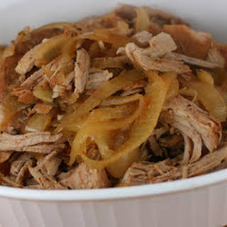 Slow Cooker Rootbeer Pulled Pork.