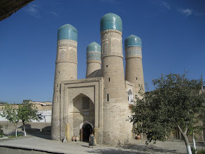 Photo: Bukhara - Chor Minor