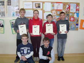 Photo: Po rozwiązaniu trudnego testu można być z siebie dumnym:) Gratulacje!!!