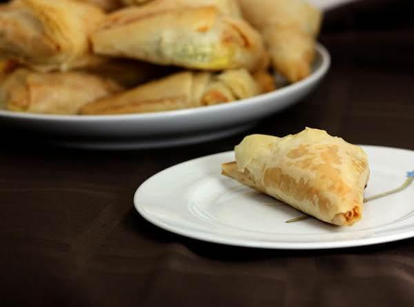 Tyropita Me Filo Kroustas (cheese Pie)