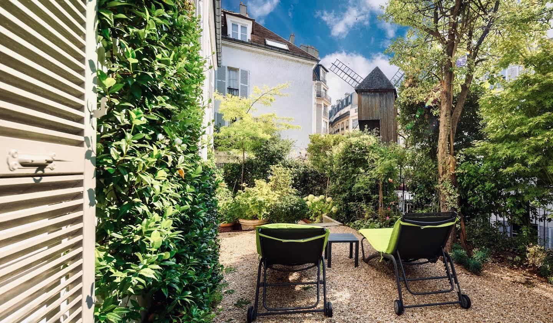 Maison avec jardin et terrasse Paris 18ème