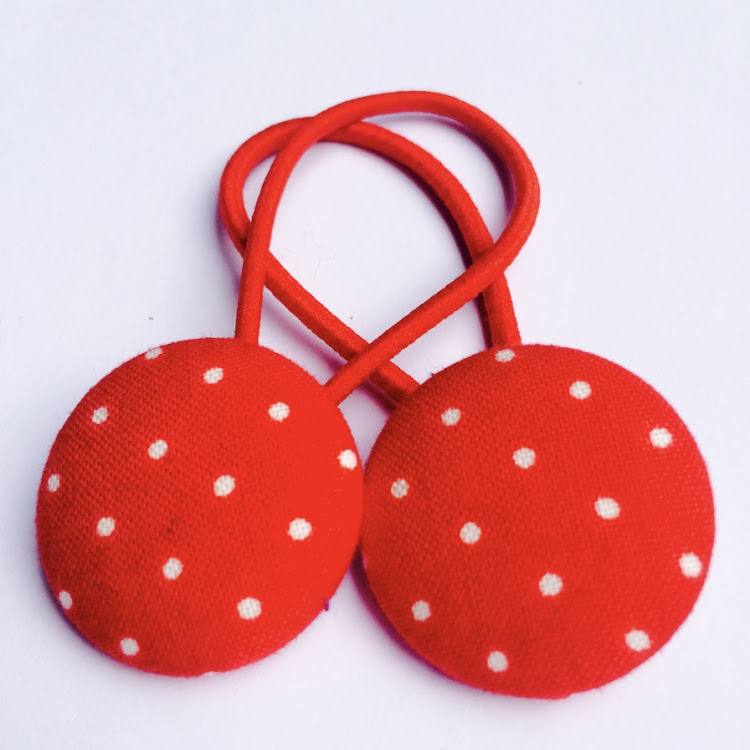 Red Polka - Medium by Emma5