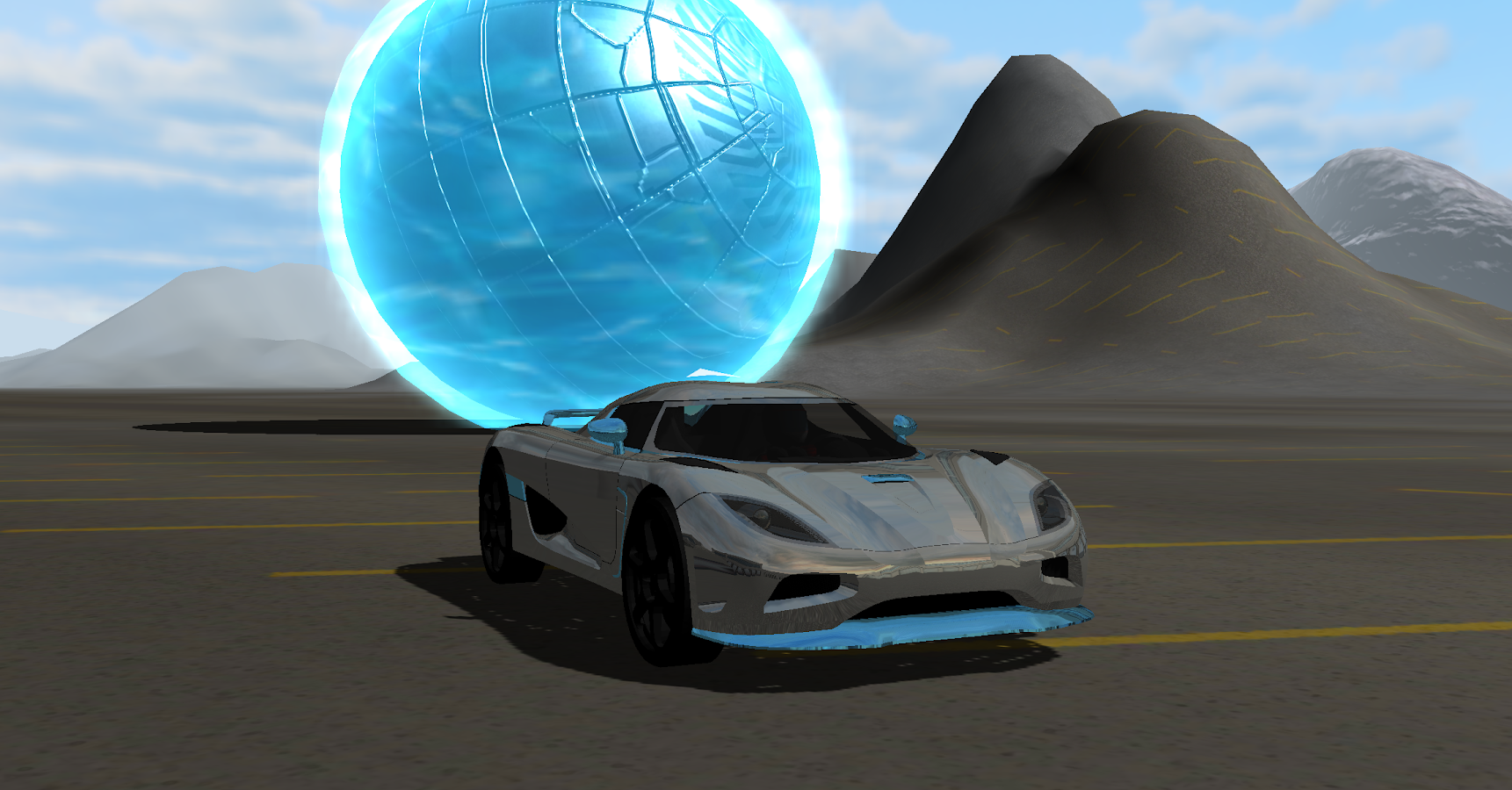 Air Car Ball- screenshot
