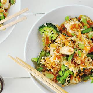 Chicken Teriyaki Rice Bowl.