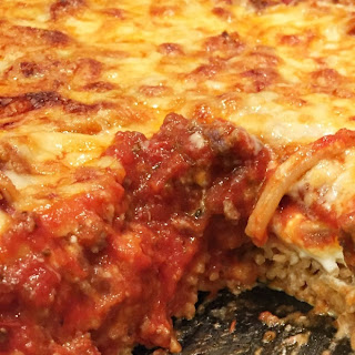 Great Pasta Recipes - Baked Spaghetti Casserole.