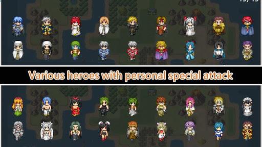Unlimited Skills Hero - Single Strategy RPG  captures d'u00e9cran 2