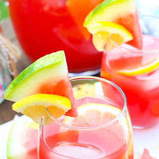 Tropical Watermelon Lemonade Cocktail
