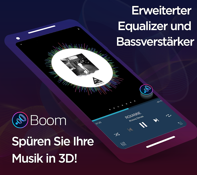 Boom: Music Player with 3D Surround Sound and EQ v2.5.3[Premium] APK [Latest]