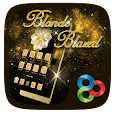 Blonde Blazed GO Launcher Theme apk