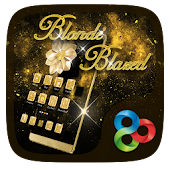 Blonde Blazed GO Launcher Theme