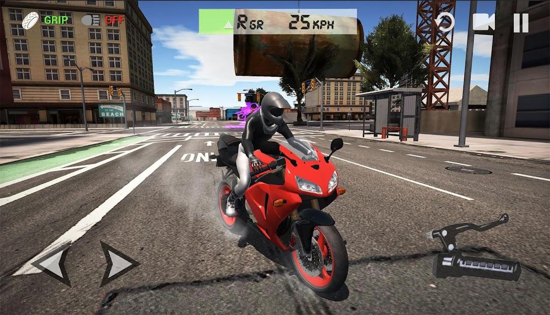 Ultimate Motorcycle Simulator Android App Screenshot