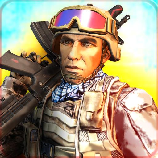 动作の軍の部隊のタスクフォース LOGO-記事Game