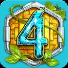 Treasures Of Montezuma 4 Free. Match-3 Free Game icon