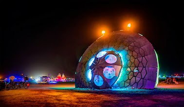 Photo: The Crashed UFO Near Area 51  This seemed like the perfect thing to come across in the middle of the desert... !!