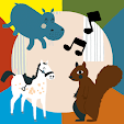 Jazzoo Hippo, Horse, Squirrel & friends