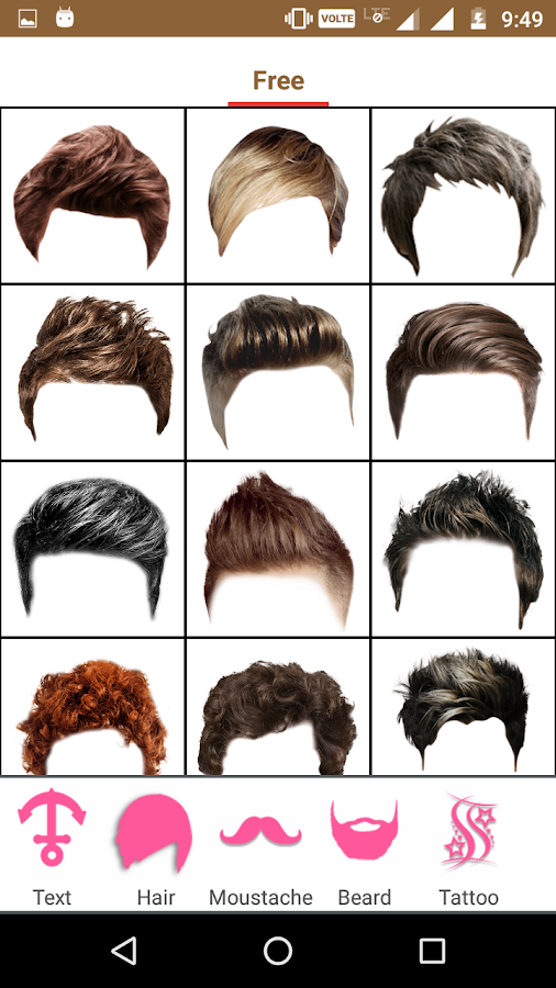 Boys Hairstyle Photo Editor Android Apps On Google Play - Hair style change photo effect