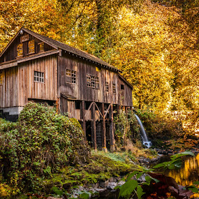 Grist Mill by Ivan Johnson - Buildings & Architecture Public & Historical (  )
