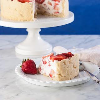 Strawberry Whip Marshmallow Tart