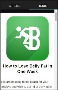 Exercises To Lose Belly Fat screenshot 1