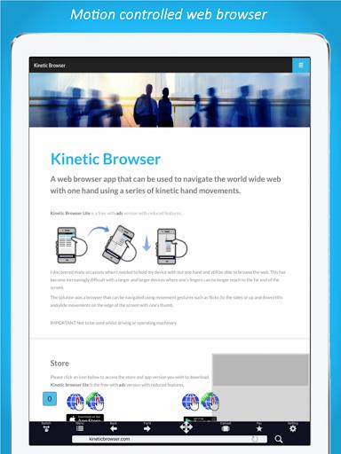 Kinetic Browser  screenshots 6
