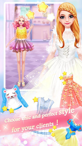 Fashion Shop - Girl Dress Up apkpoly screenshots 6