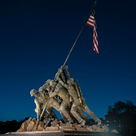 Marine Corps Way Memorial by Keith Reling - Buildings & Architecture Statues & Monuments ( washington dc, marine corps way memorial )